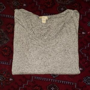 Long sleeved gray forever 21 shirt